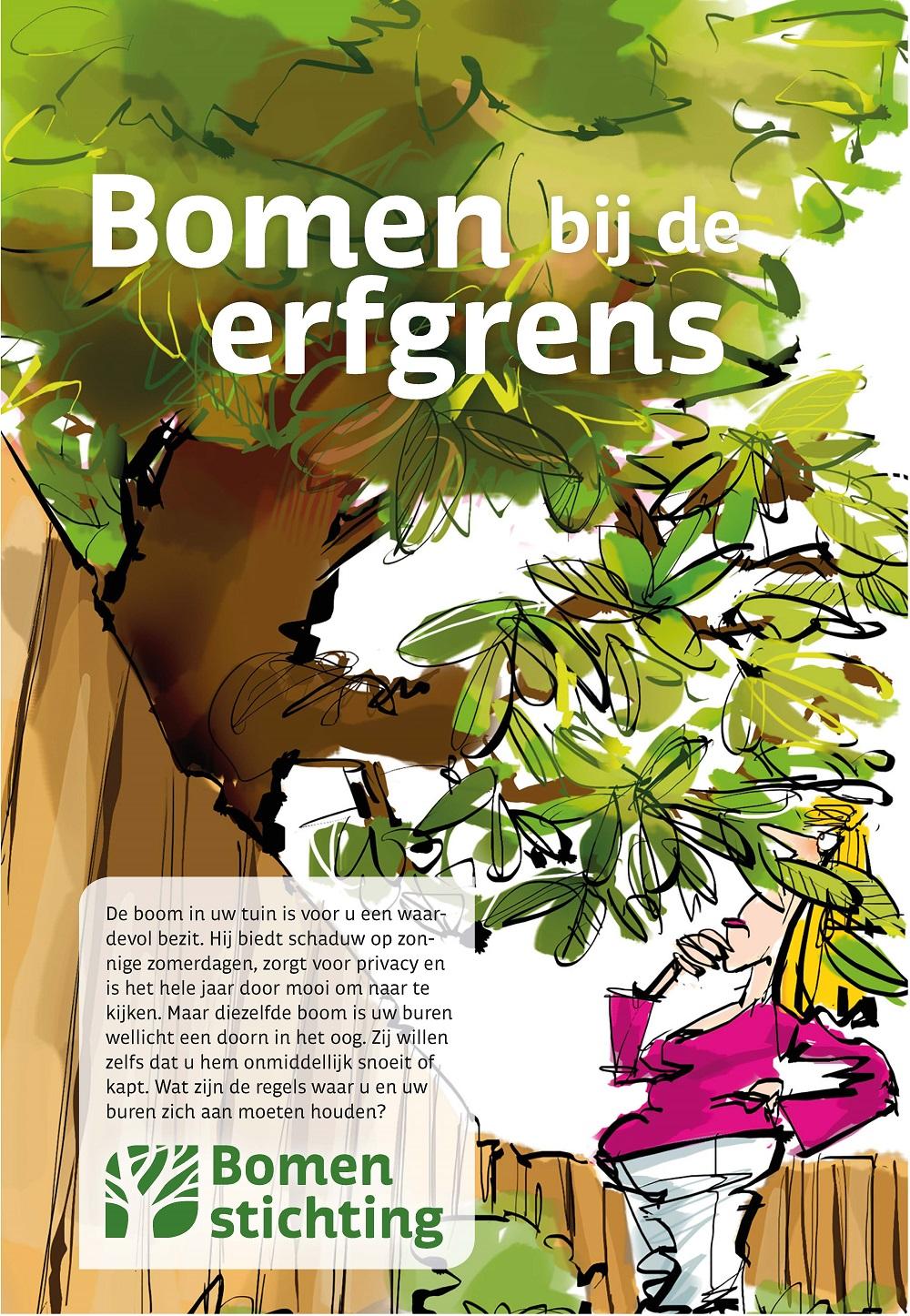 Bomen Op Erfgrens.Folder Bomen Bij De Erfgrens De Bomenstichting